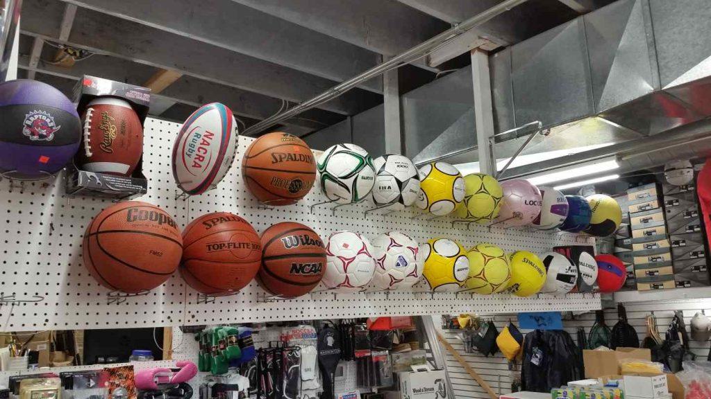 Sport-Souvenirgeschäft